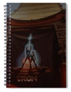 Tron  Spiral Notebook