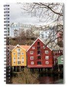 Trondheim Colors Spiral Notebook