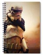 Trooper Landscape Spiral Notebook