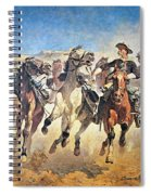 Troopers Moving Spiral Notebook