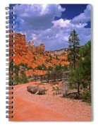 Tropic Canyon Bridge In Bryce Canyon Np Utah Spiral Notebook