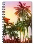 Tropical 11 Spiral Notebook
