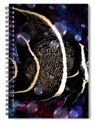 Tropical Angel Fish Spiral Notebook