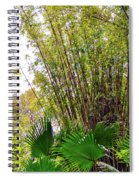 Tropical Bamboo Spiral Notebook