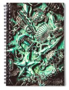 Tropical Bay Elements Spiral Notebook