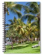 Tropical Beach I. Mauritius Spiral Notebook