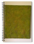 Tropical Palms Canvas Green - 16x20 Hand Painted Spiral Notebook