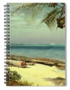 Tropical Coast Spiral Notebook