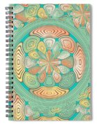 Tropical Color Abstract Spiral Notebook