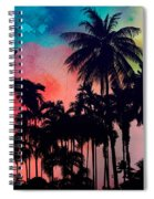 Tropical Colors Spiral Notebook