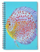 Tropical Discus Fish With Red Spots Spiral Notebook