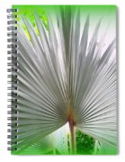 Tropical Fan Spiral Notebook