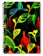 Tropical Flock Spiral Notebook