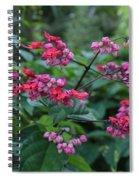 Tropical Flower Flow Spiral Notebook