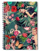 Tropical Fun Sexy  Spiral Notebook