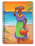 Tropical Harvest Spiral Notebook
