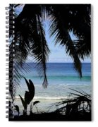 Tropical Hole Spiral Notebook