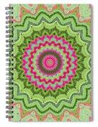 Tropical Kaleidoscope Spiral Notebook