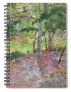 Tropical Landscape Spiral Notebook