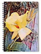 Tropical Lilly Spiral Notebook