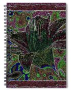 Tropical Lily 3 Spiral Notebook
