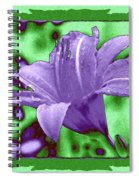 Tropical Lily 4 Spiral Notebook
