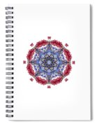 Tropical Mandala By Kaye Menner Spiral Notebook