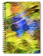 Tropical Mosaic Abstract Art Spiral Notebook