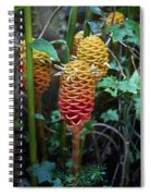 Tropical Mystery Plant Spiral Notebook