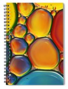 Tropical Oil And Water II Spiral Notebook