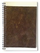 Tropical Palms Canvas Bronze - 16x20 Hand Painted Spiral Notebook