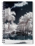 Tropical Paradise Infrared Spiral Notebook