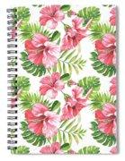 Tropical Paradise-jp3962 Spiral Notebook