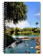 Tropical Plantation - Maui Spiral Notebook