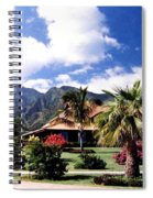 Tropical Plantation Spiral Notebook