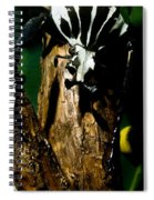 Tropical Scarab Spiral Notebook