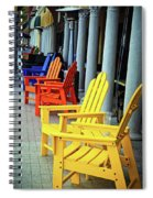 Tropical Seating Spiral Notebook