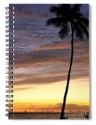 Tropical Silhouette Spiral Notebook