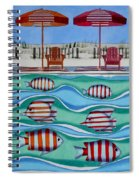Tropical Sycronicity Spiral Notebook