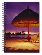 Tropical Tahitian View Spiral Notebook