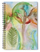 Tropical Trees Spiral Notebook