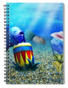 Tropical Vacation Under The Sea Spiral Notebook