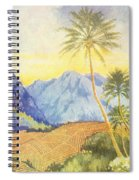 Tropical Vintage Hawaii Spiral Notebook