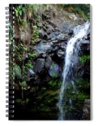 Tropical Waterfall Spiral Notebook