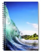 Tropical Wave Spiral Notebook