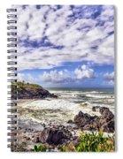 Tropical Waves Spiral Notebook
