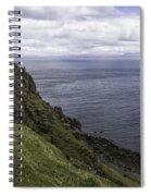 Trotternish Landscape Spiral Notebook