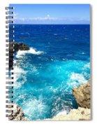 Trou Madame Coco, Grande Terre, Guadeloupe Spiral Notebook