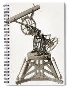 Troughton Equatorial Telescope, 19th Spiral Notebook