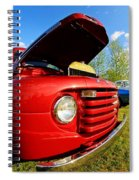 Truck Headlight Spiral Notebook
